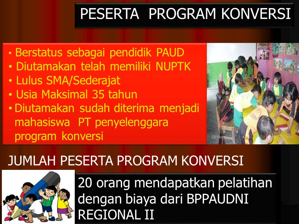 PESERTA PROGRAM KONVERSI