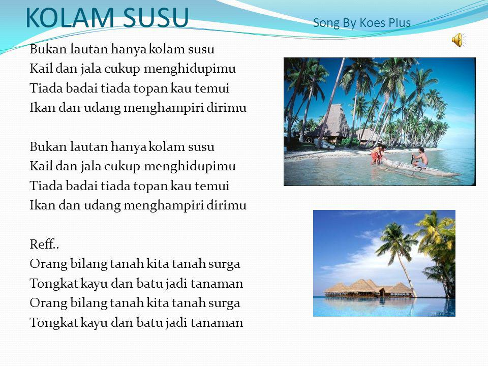 KOLAM SUSU Song By Koes Plus