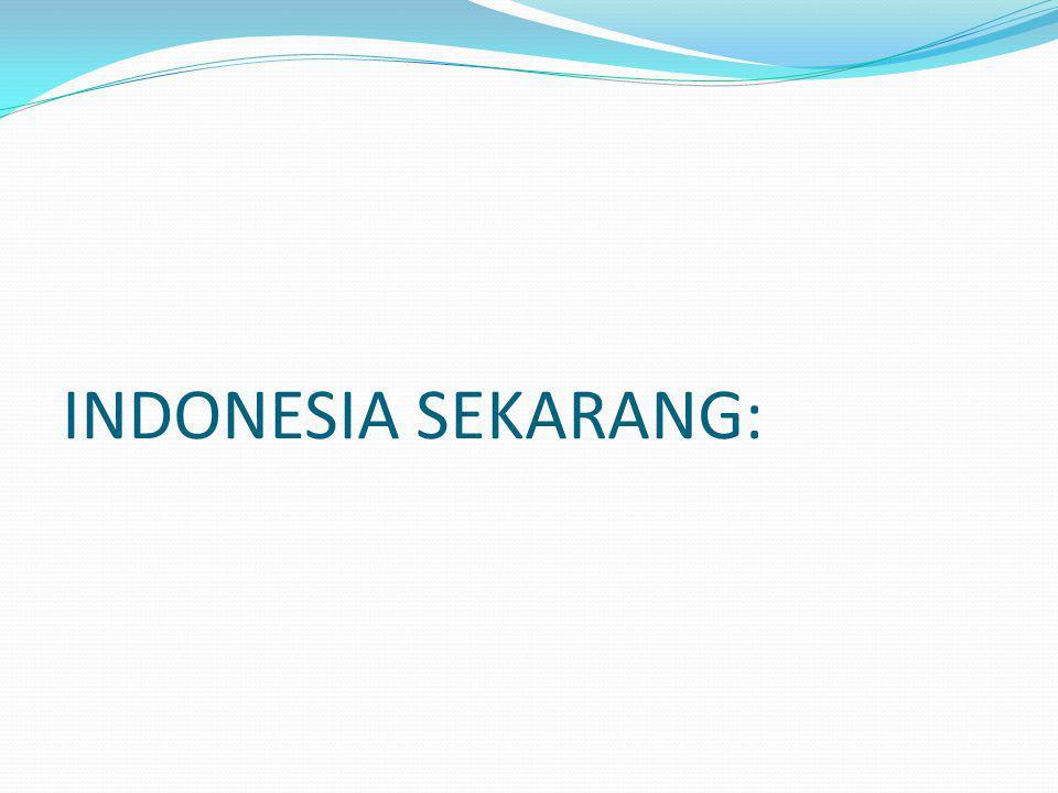 INDONESIA SEKARANG: