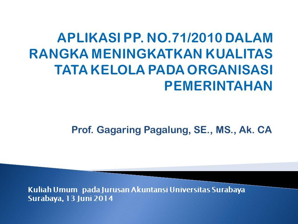 Prof. Gagaring Pagalung, SE., MS., Ak. CA
