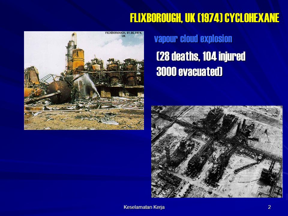 FLIXBOROUGH, UK (1974) CYCLOHEXANE