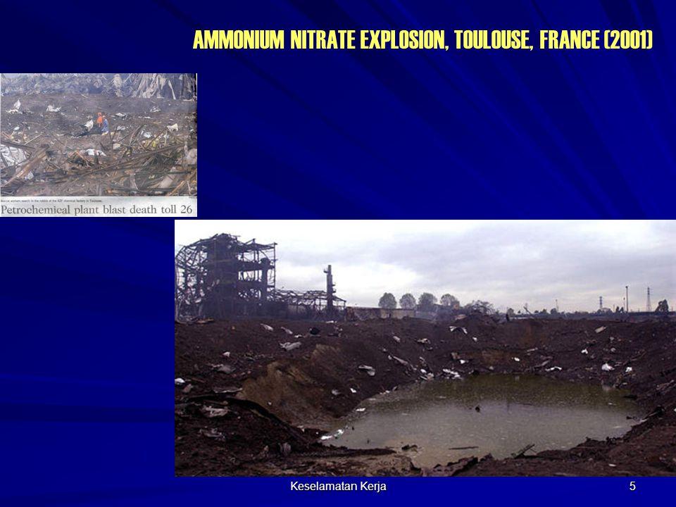AMMONIUM NITRATE EXPLOSION, TOULOUSE, FRANCE (2001)