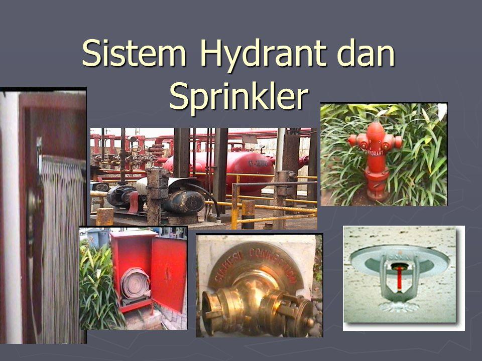 Sistem Hydrant dan Sprinkler