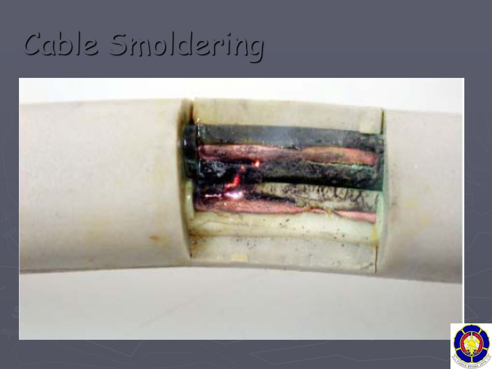 Cable Smoldering