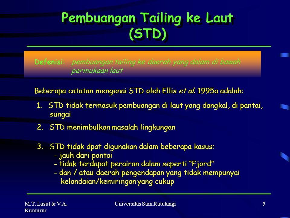 Pembuangan Tailing ke Laut (STD)