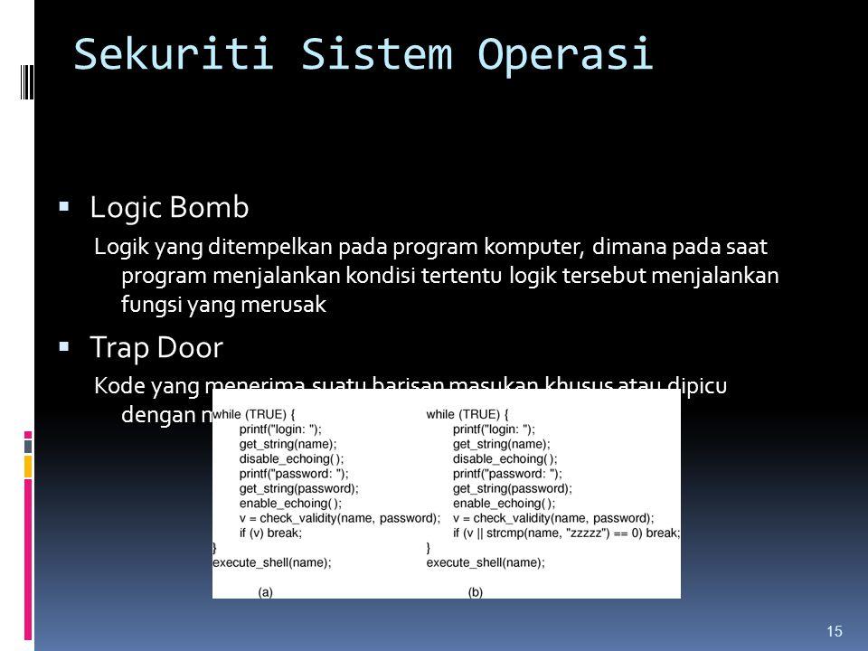 Sekuriti Sistem Operasi