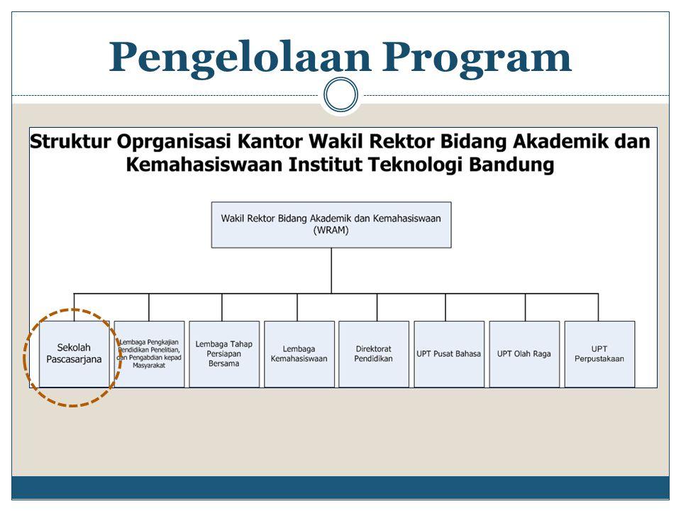 Pengelolaan Program