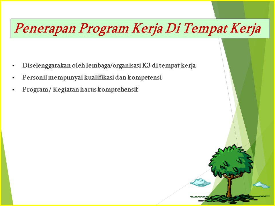 Penerapan Program Kerja Di Tempat Kerja