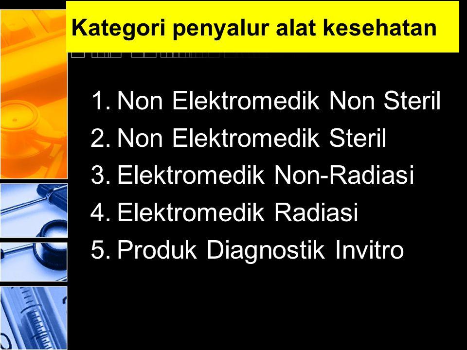 Kategori penyalur alat kesehatan