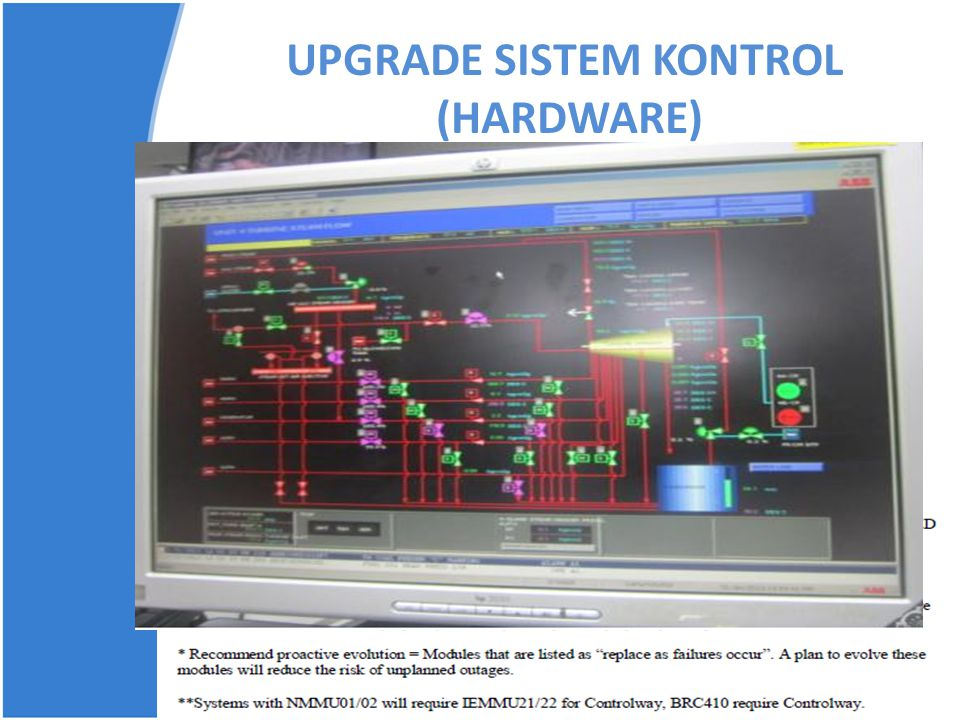 UPGRADE SISTEM KONTROL (HARDWARE)