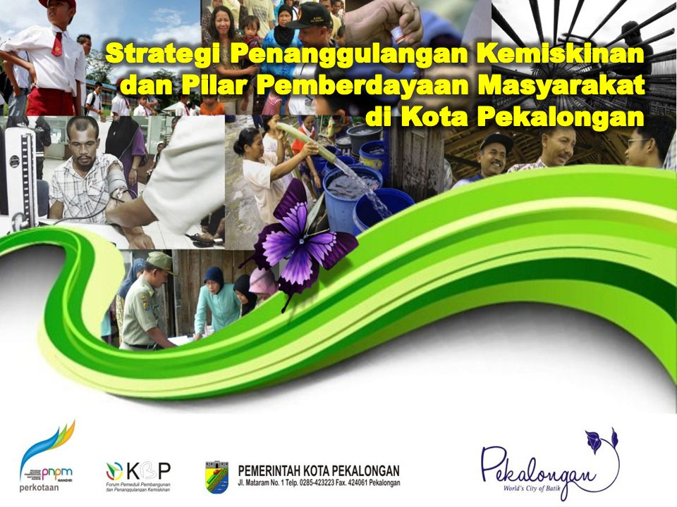 Strategi Penanggulangan Kemiskinan dan Pilar Pemberdayaan Masyarakat