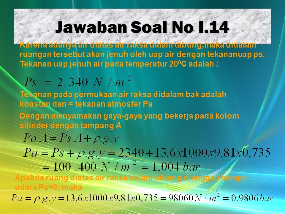 Jawaban Soal No I.14