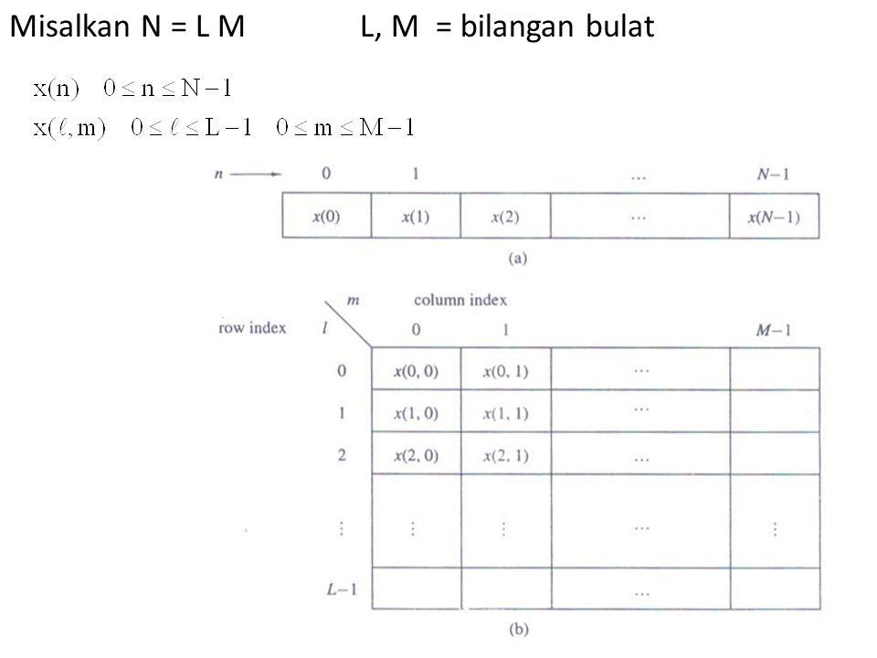 Misalkan N = L M L, M = bilangan bulat
