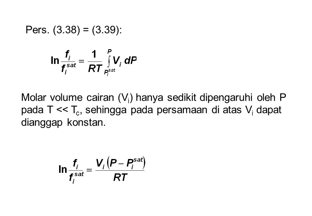 Pers. (3.38) = (3.39):