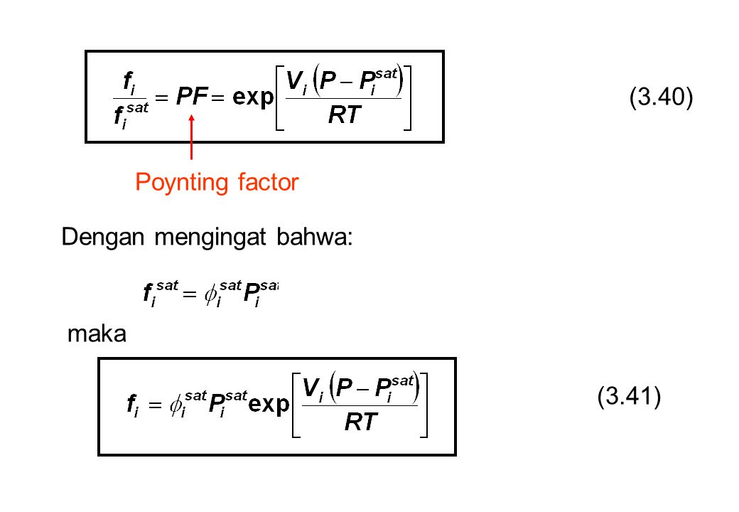 (3.40) Poynting factor Dengan mengingat bahwa: maka (3.41)