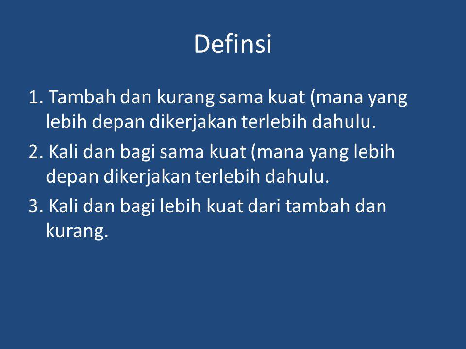 Definsi