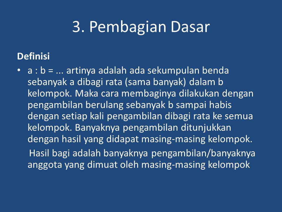 3. Pembagian Dasar Definisi