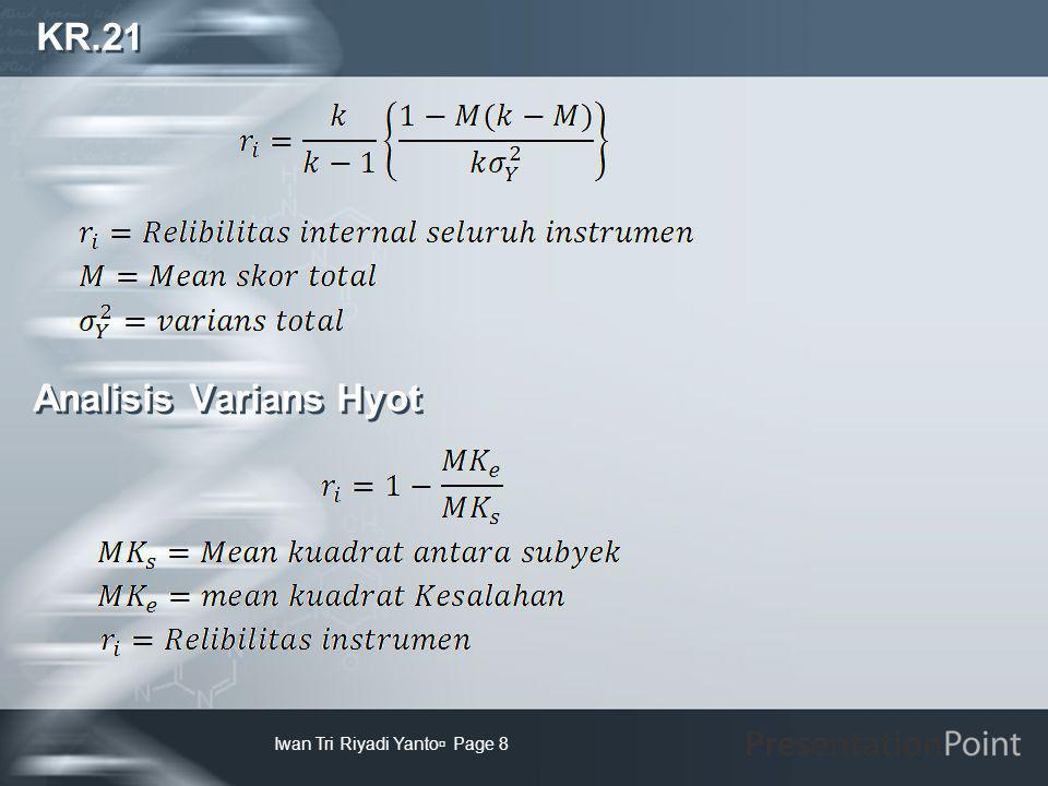 KR.21 Analisis Varians Hyot Iwan Tri Riyadi Yanto Page 8