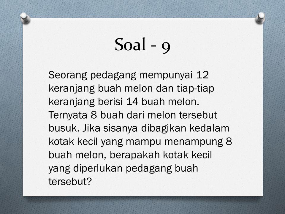 Soal - 9