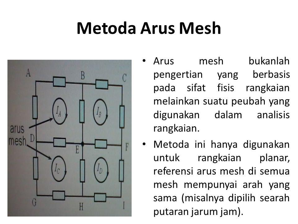 Metoda Arus Mesh