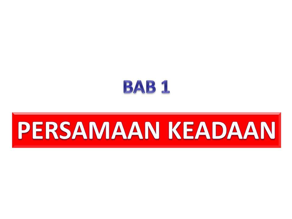BAB 1 PERSAMAAN KEADAAN