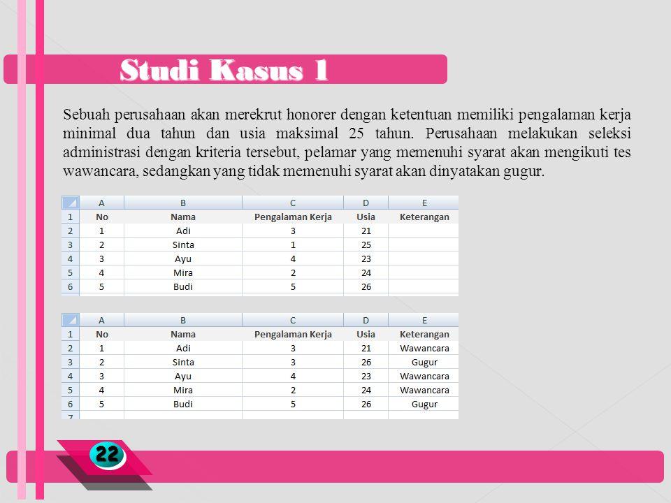 Studi Kasus 1