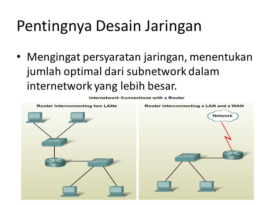Pentingnya Desain Jaringan