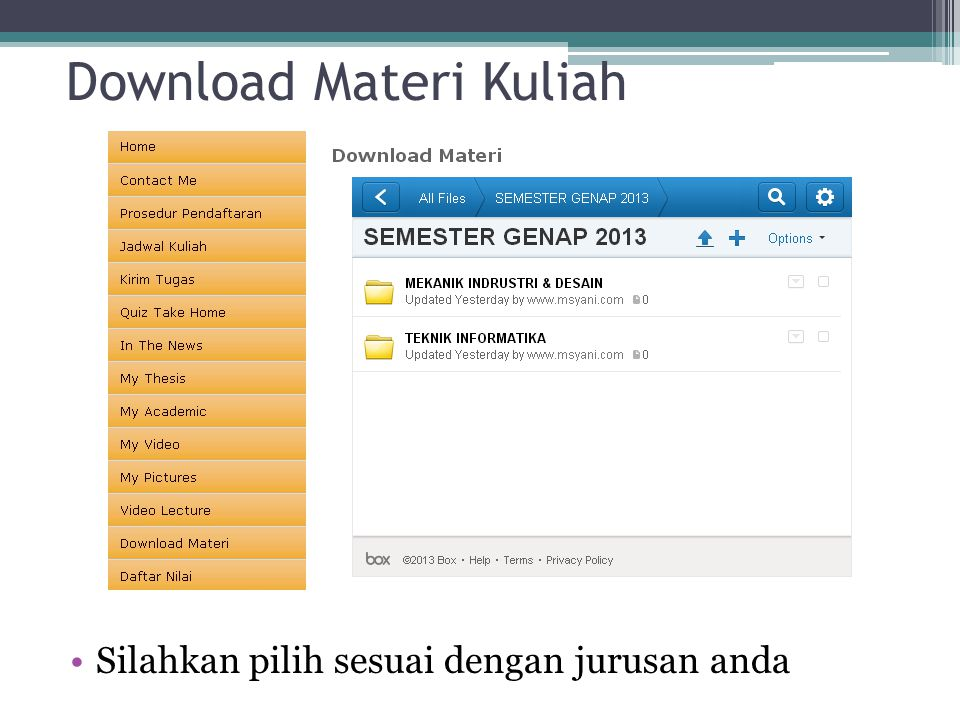 Download Materi Kuliah