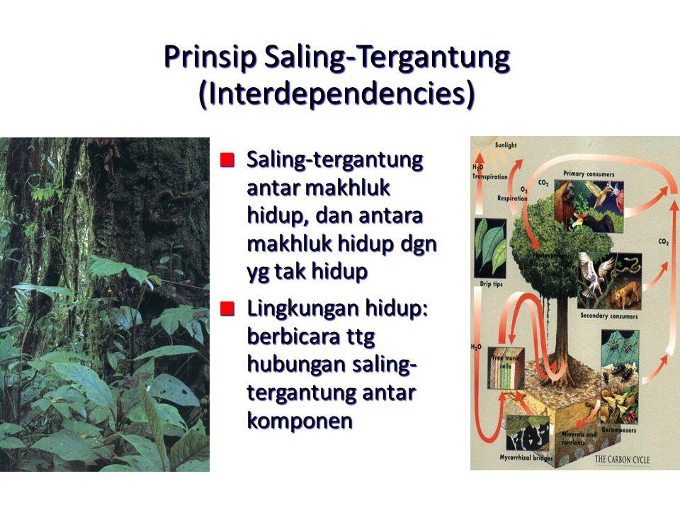 Prinsip Saling-Tergantung (Interdependencies)