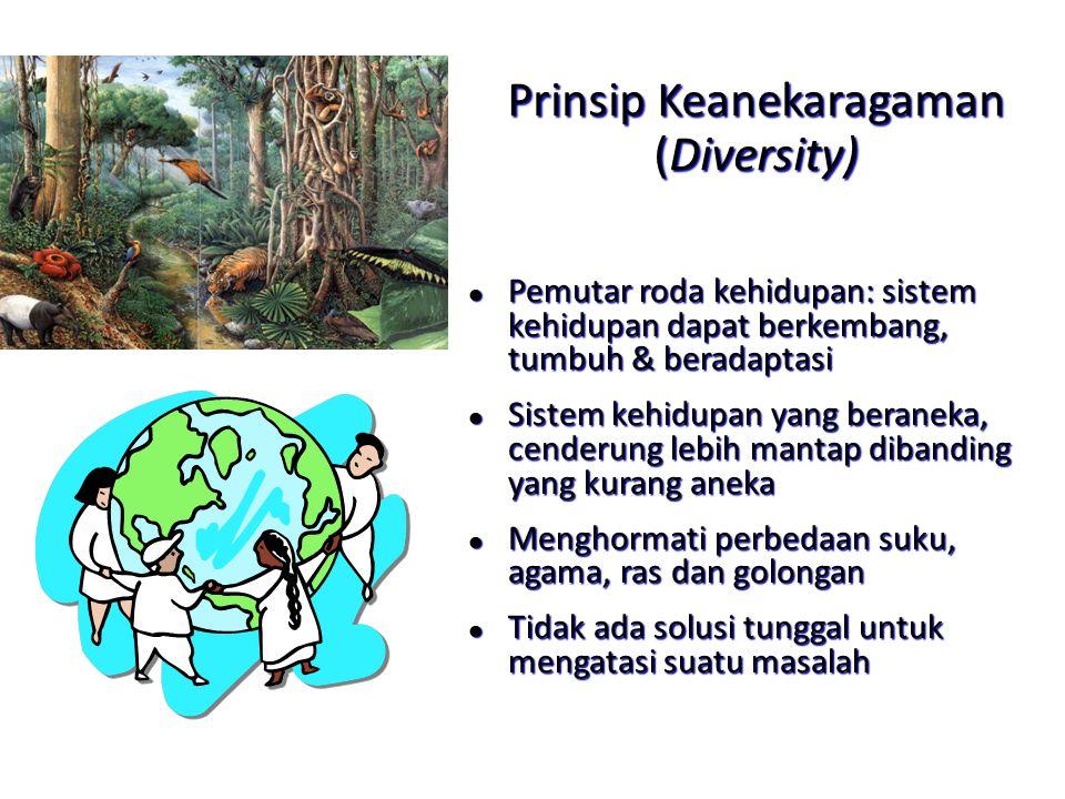 Prinsip Keanekaragaman (Diversity)