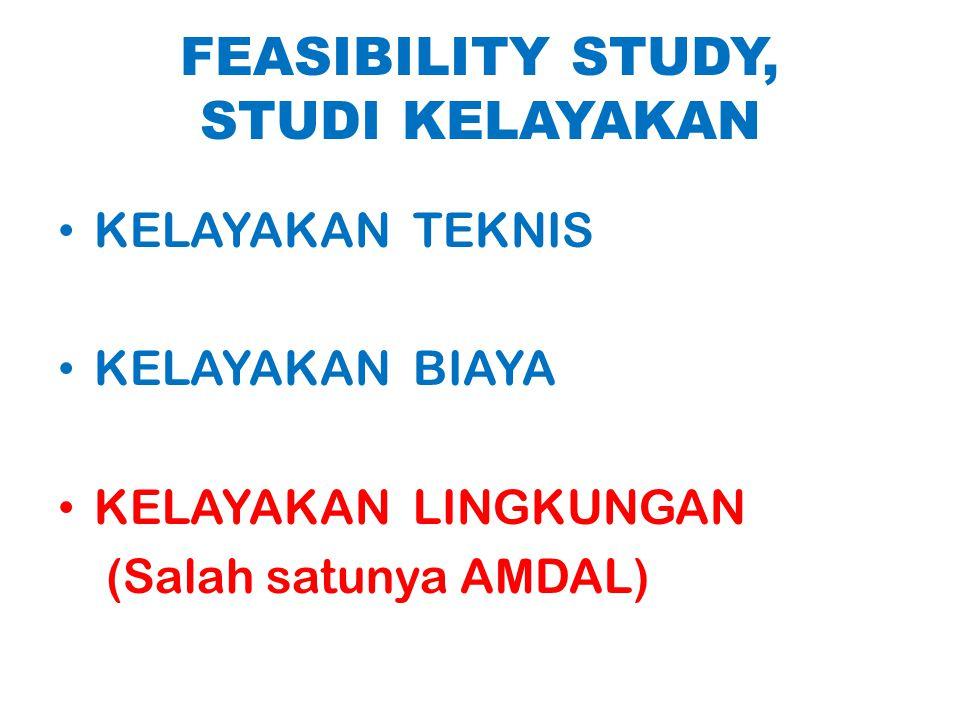 FEASIBILITY STUDY, STUDI KELAYAKAN