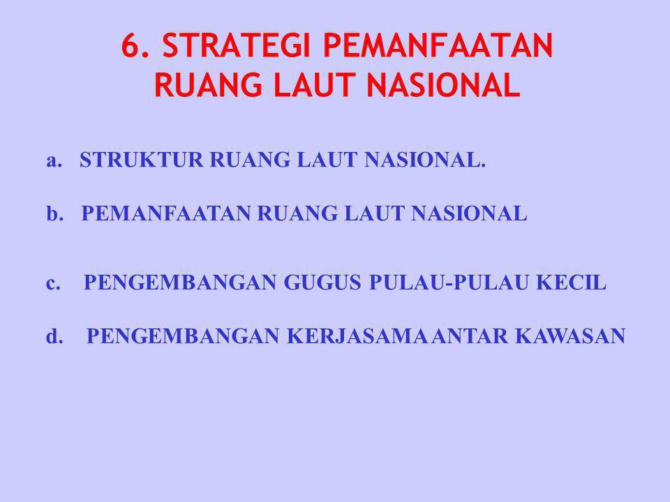6. STRATEGI PEMANFAATAN RUANG LAUT NASIONAL