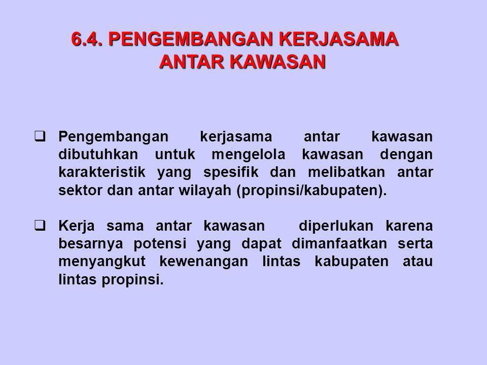 6.4. PENGEMBANGAN KERJASAMA