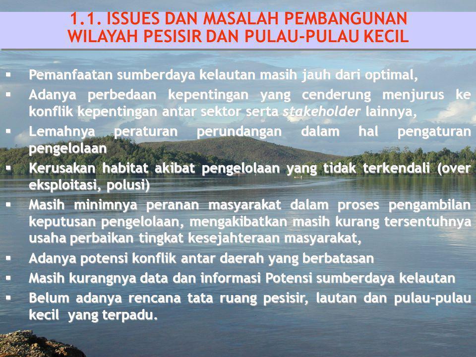 1.1. ISSUES DAN MASALAH PEMBANGUNAN