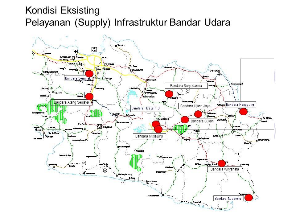 Pelayanan (Supply) Infrastruktur Bandar Udara