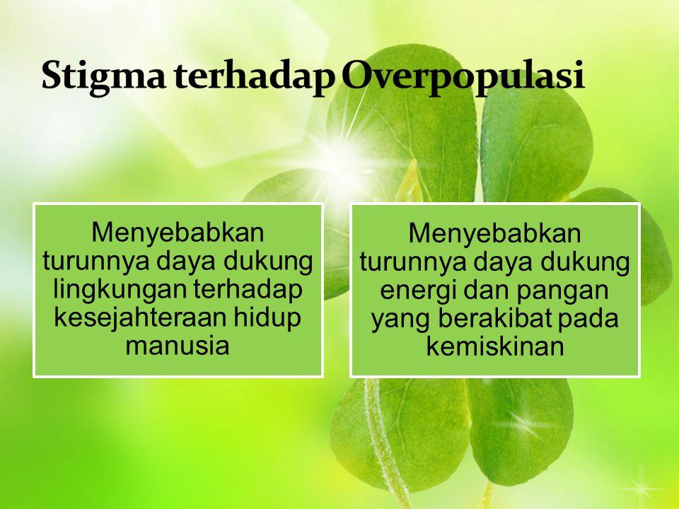 Stigma terhadap Overpopulasi