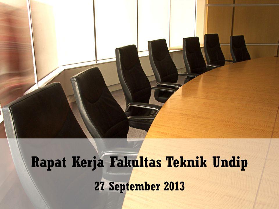 Rapat Kerja Fakultas Teknik Undip
