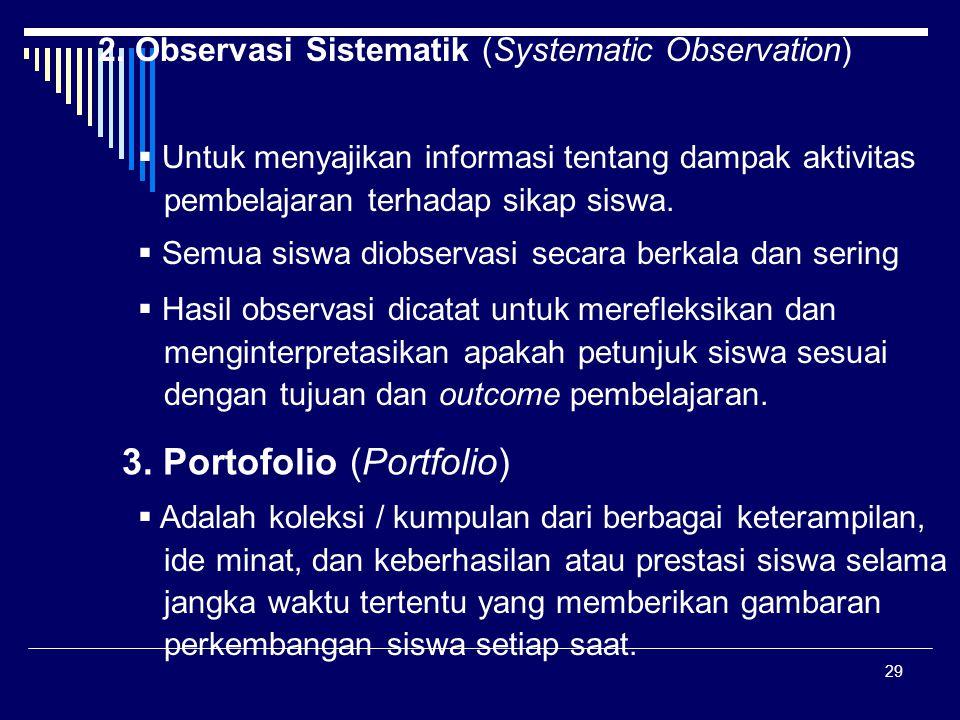 3. Portofolio (Portfolio)