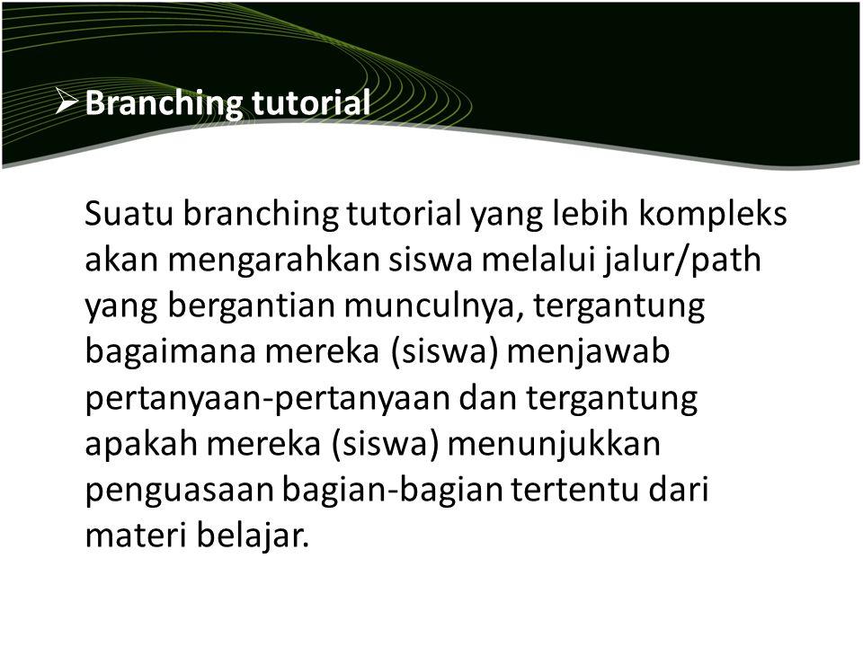 Branching tutorial