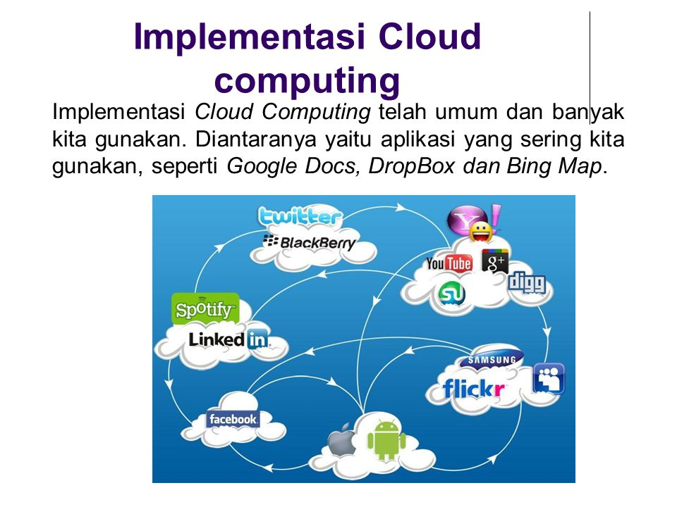 Implementasi Cloud computing