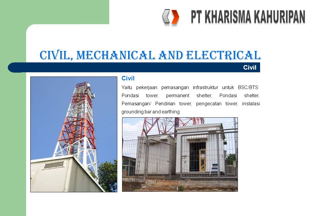 Civil, Mechanical and Electrical