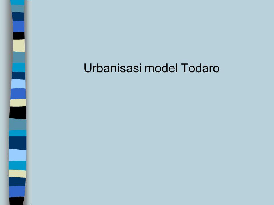 Urbanisasi model Todaro