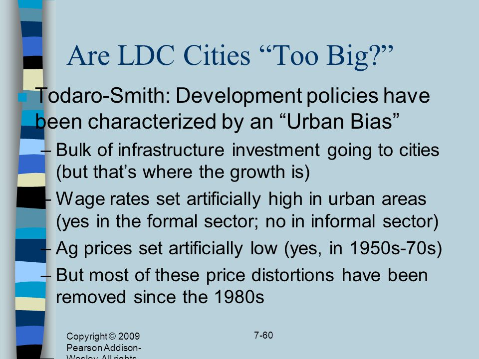 Are LDC Cities Too Big