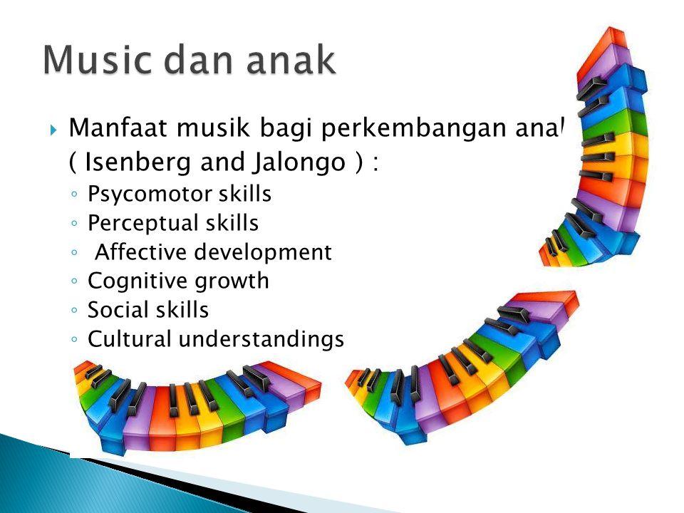Music dan anak Manfaat musik bagi perkembangan anak