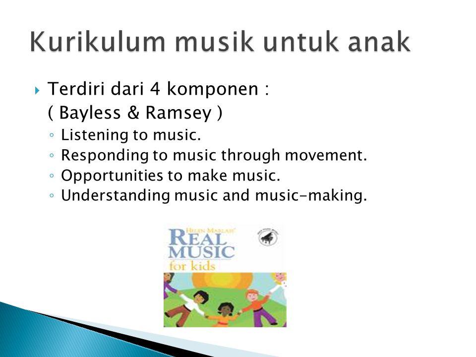 Kurikulum musik untuk anak