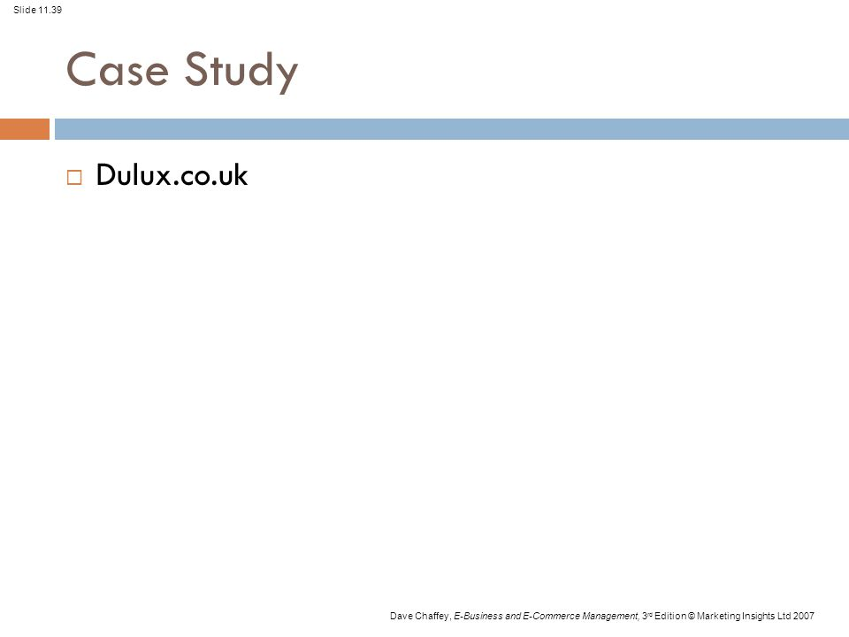Case Study Dulux.co.uk