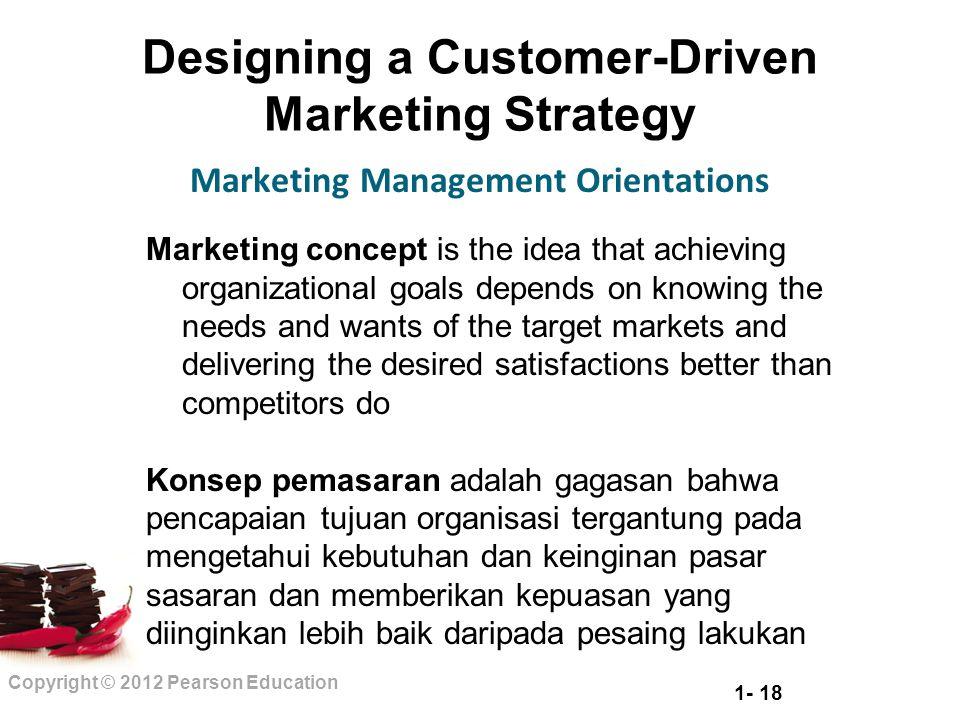 customer orientation and marketing Market orientation, customer value, and superior performance stanley f slater and john c, narver thinking in terms of the market (not marketing) is essential in the highly competitive arenas of today.