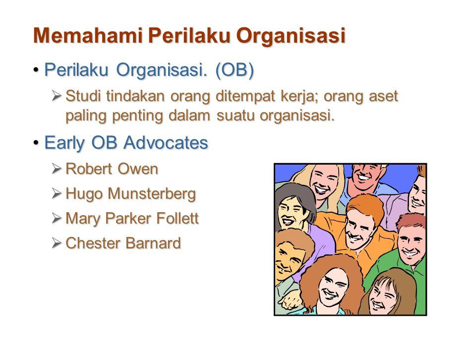 Memahami Perilaku Organisasi
