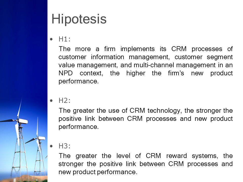 Hipotesis H1: