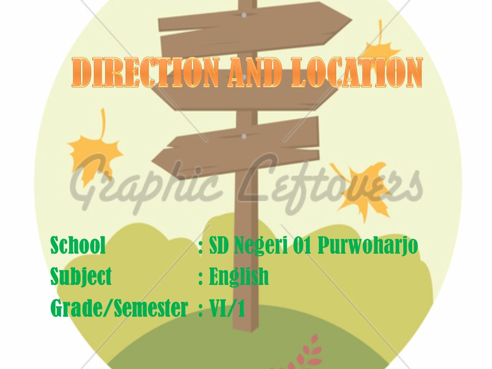 DIRECTION AND LOCATION